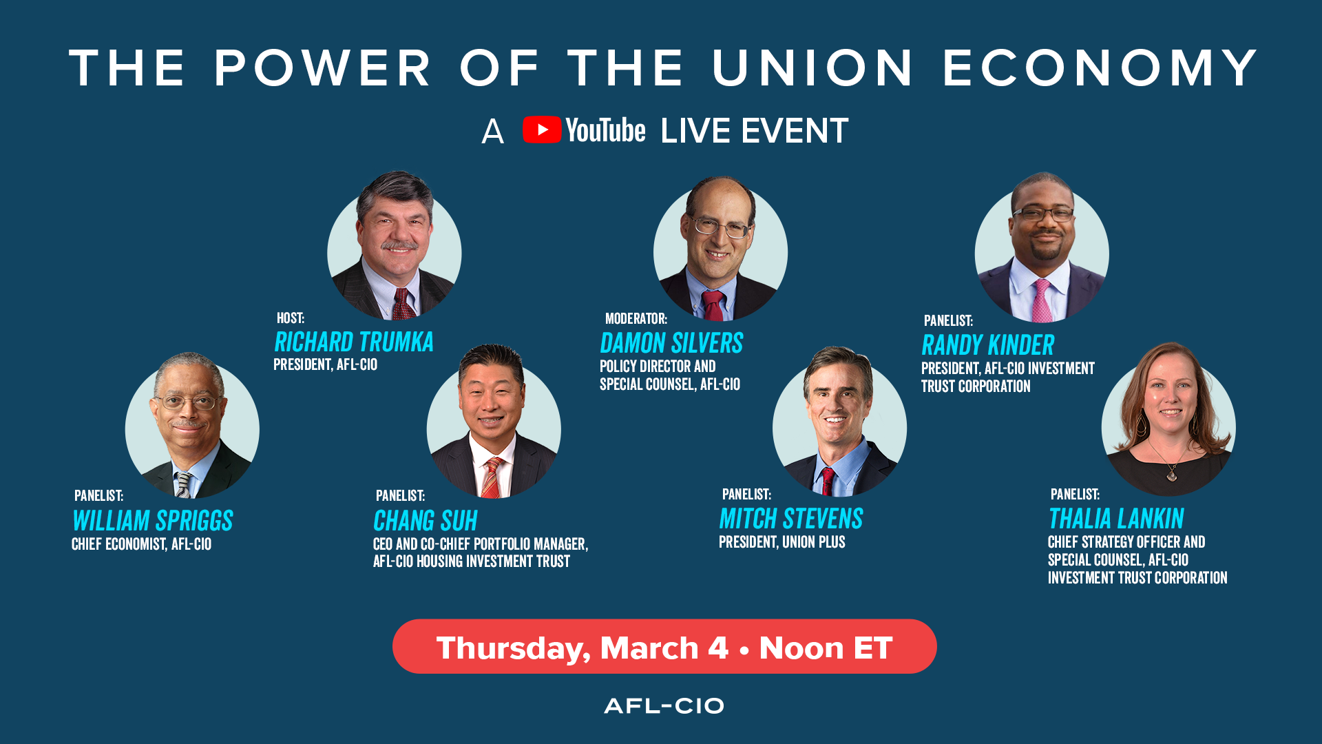 The Power of the Union Economy - A YouTube Live Event